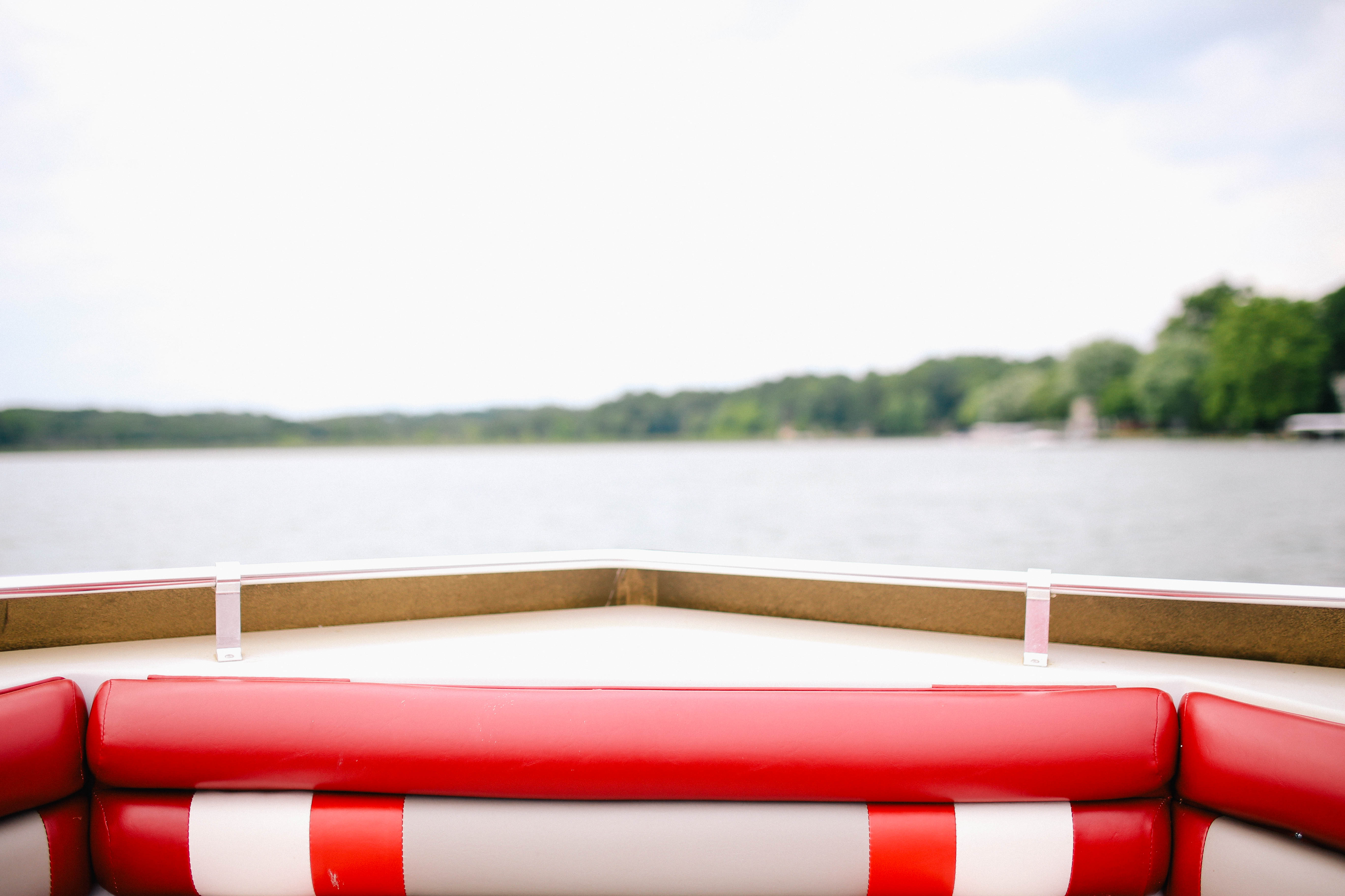 this is the stern of a boat, not an email